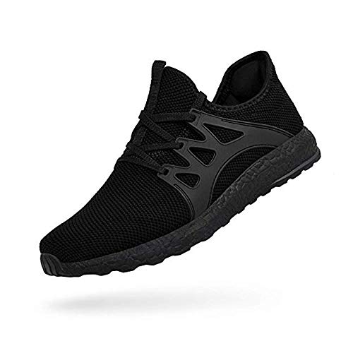 SouthBrothers Sneakers for Womens Ultra Lightweight Breathable Casual Mesh Athletic Shoes Black036