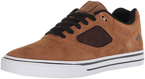 - Emerica Men's Reynolds 3 G6 Vulc Skate Shoe, tan/Brown, 11.5 Medium US
