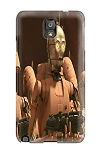 Premium Durable Star Wars Tv Show Entertainment Fashion Tpu Galaxy Note 3 Protective Case Cover