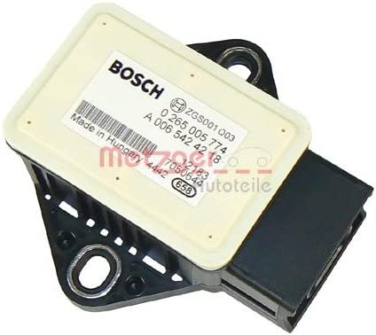 Metzger 0900578 Sensor L/ängs//Querbeschleunigung