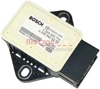Metzger 0900578 Sensor Längs Querbeschleunigung Auto