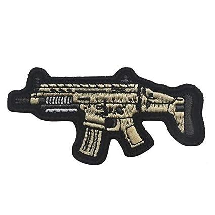 Virtue Rubber Tactical Gun Patch 3D PVC Combat Patches Hook