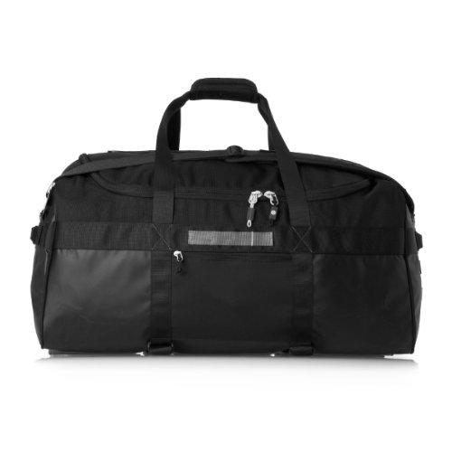 HEIMPLANET Monolith Duffle Bag Tasche, Schwarz, 67 x 34 x 37 cm