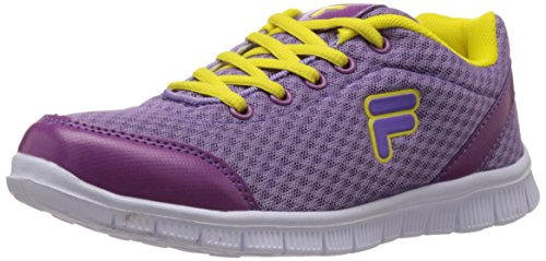 Fila Women's Lara Purple and Yellow Running Shoes -4 UK/India(37 EU)(5 US)