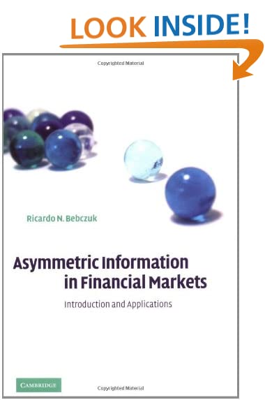asymmetric information Understanding information asymmetry is fundamental to successful business interactions and negotiations, as companies and consumers invariably hold imperfect information about one another.