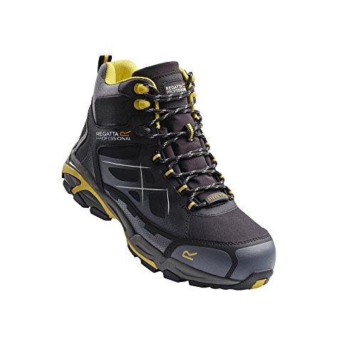 Regatta Hardwear - Prime Softshell S3 - Stivali di Sicurezza - Uomo Nero/Giallo