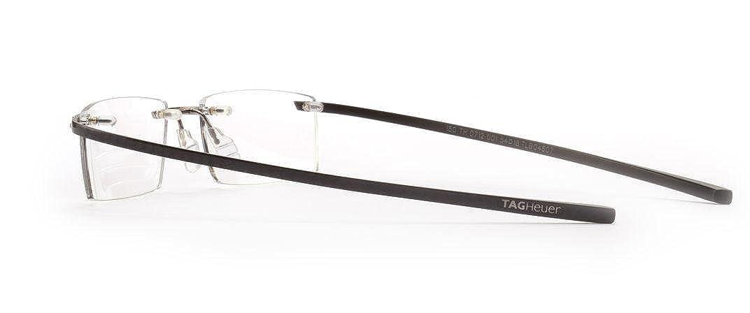 a2b395892c4ff Amazon.com  Tag Heuer Spring C-flex Carbon titane Ceramic Eyeglasses   Clothing