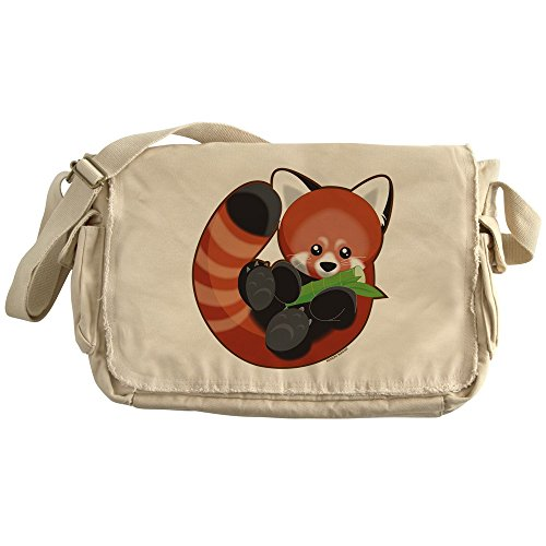 CafePress - Red Panda - Unique Messenger Bag, Canvas Courier Bag by CafePress
