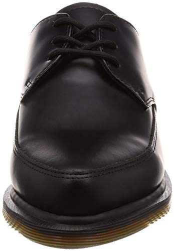 martens Noir Chaussures Smooth Dr Willis Cuir Unisex pqHwdwY