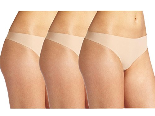 Cloya Womens Seamless Invisible Thongs product image