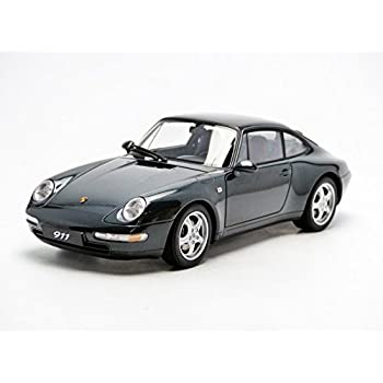 AUTOart 78134 1/18 - Millennium: Porsche 993 Carrera 1995, Green Metallic