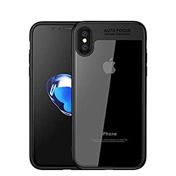 watch 10d63 c67b7 iPhone X/XS Case Cover, By DN-Alive [Auto Focus] [Black] [Gel] [Clear]  [Transparent] [Silicone] [Slim] [Thin] [Shock Absorbing] [Drop Proof] [Soft  ...