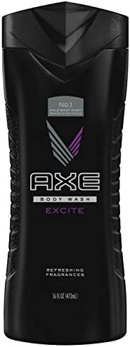 AXE Body Wash for Men, Excite, 16 Fl Oz (Pack of 1)