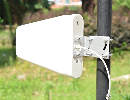 4G LTE Outdoor Cellular Yagi Antenna, Wide Band Directional Log Periodic Yagi Cellular Antenna for 4G LTE 3G 2G GSM T-mobile Verizon AT&T Hotspot Signal Boosters Repeaters by HIGHFINE (Image #1)