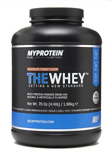 Myprotein, Vanilla Ice Cream, 4.2 lbs 60 Servings , THEWHEY Ultra-Premium Tri Blend with Digezyme and Aminogen