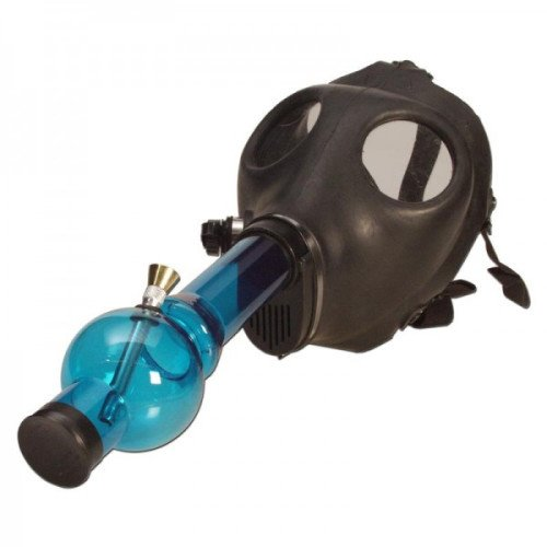 BLACK-RUBBER-GAS-MASK-WITH-ACRYLIC-TUBE-BLUE
