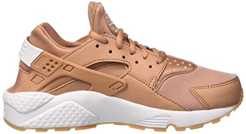 Gum White Donna Ginnastica Air Clay Scarpe Dusted Huarache da Run Wmns NIKE Yellow Beige 04P7Wqgq