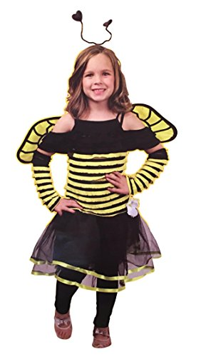 Bee Costume for Girls - Honey Bee Child Costumes