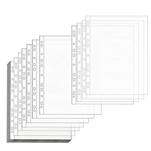 Office Sheet Protectors 8.5 x 11 Clear Sheet Protectors Page Protectors Plastic Sleeves for Binders Plastic Sheet Protectors Heavy Duty Plastic Sleeves Safe for Photos or Printed Copy 50 Pack