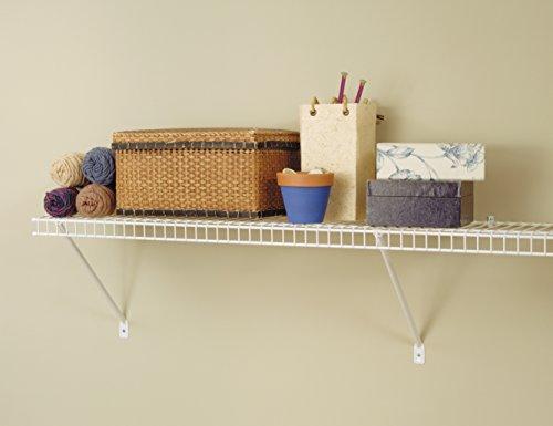 ClosetMaid 51031 Wire Shelf Kit, 3-Feet, White by ClosetMaid (Image #5)