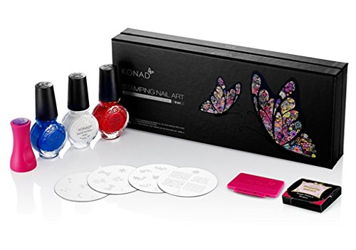 Konad Set - Konad Nail Art Stamping Starter Kit - B Set