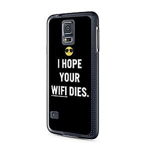 I Hope Your WiFi Esto Samsung Galaxy S5Mini Carcasa Cover Case Carcasa Emoji Alemán