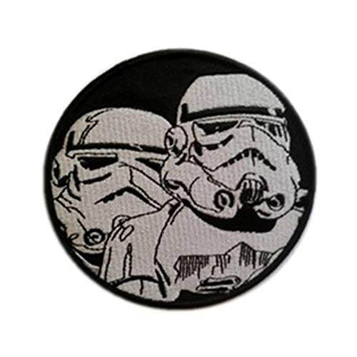 Stormtrooper Imperial Black Classic Episode Movie Embroidered Iron-On