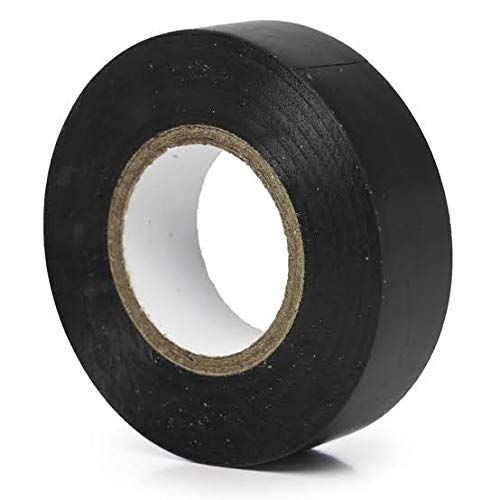 """ETIPL PVC Insulation Electrical Tape 3/4""""X8YardsX0.125mm Set of 6 (Black):  Amazon.in: Industrial & Scientific"""
