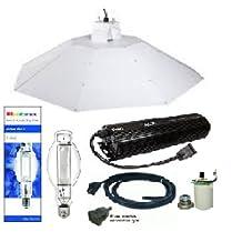 ACE- Plantmax 1000 Watt Metal Halide Bulb- Parabolic Chrome Reflector 4 ft Complete Kit