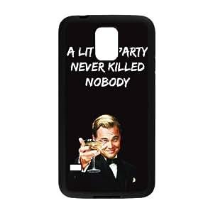 Samsung Galaxy S5 Phone Case Black Wolf Of Wall Street NJY8740612