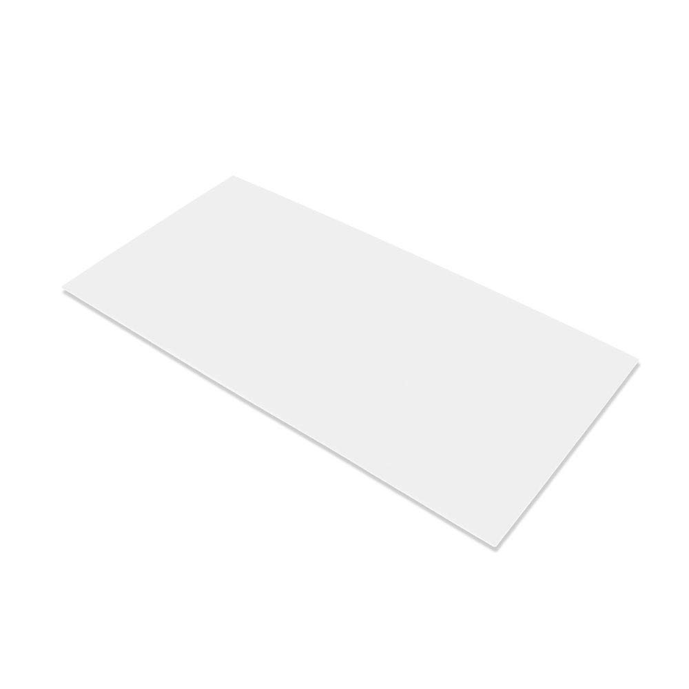 """G10 Spacer 5"""" X 10"""" X 1/32"""" Handle Material for knife making & gun making, (White)"""