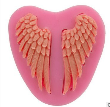 Mr.S Shop Angel Wings Liquid Silicone Molds For Soap Fondant Cake Decorating Tools Silicon