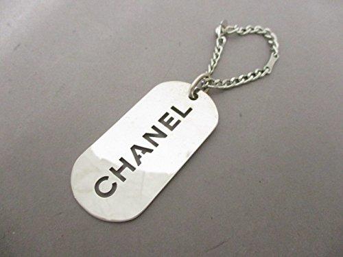 (シャネル) CHANEL キーホルダー(チャーム) シルバー 【中古】 B07F365MHT  -