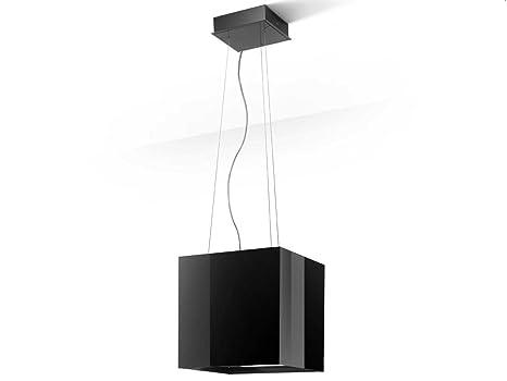 Best Cappa a Sospensione Cube Bianco Verniciato da 40x40cm: Amazon ...
