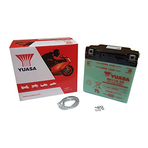 YUASA BATTERY YUASA 6N11A-3A (prijs incl. EUR 7,50 borg)