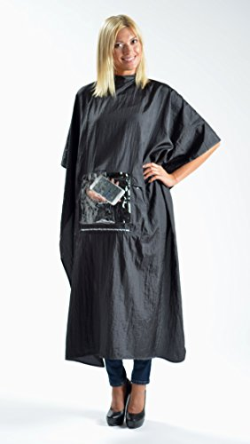 iCape - Black Hair Cutting Cape for Mobile Devices with W...