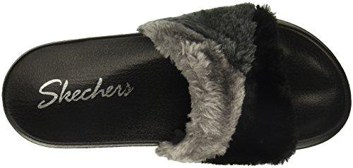 Skechers Womens Andre Take-tidsreise Lysbilde Sandal Svart / Multi