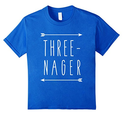 kids-three-nager-teenager-funny-cute-3-year-old-white-arrow-tee-4-royal-blue