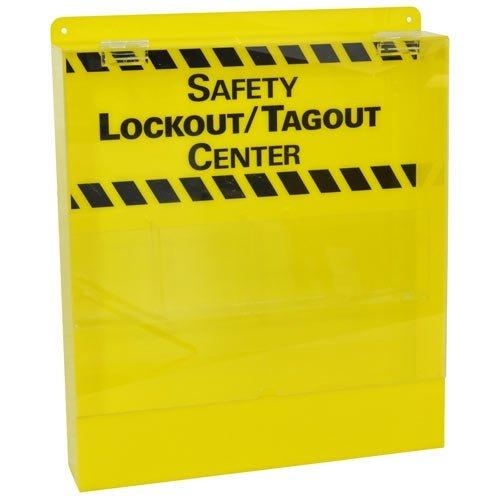 Brady LC233E, 45530 Prinzing Mini-Lo Center W/Door -Yellow, (Pack of 2 pcs) by Brady
