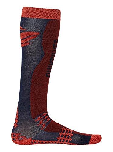 Quiksilver Mens Trial Socks Red M/L