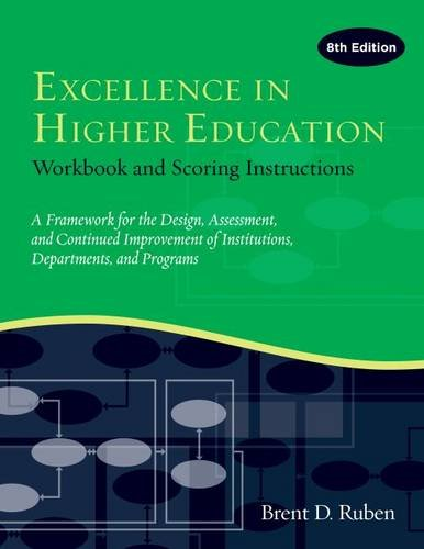 Excellence in Higher Education: Workbook and Scoring Instructions