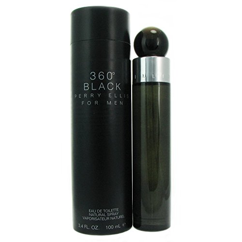 360 Black Perry Ellis Men