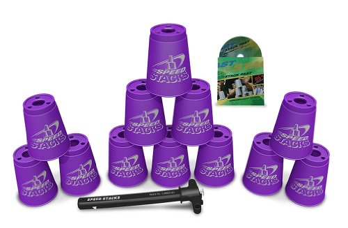 Sport Stacking with Speed Stacks Cups Royal Purple (Cup Stacking)