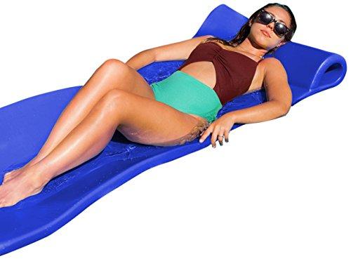 - Pool Mate Large Foam Mattress Swimming Pool Float, Bahama Blue