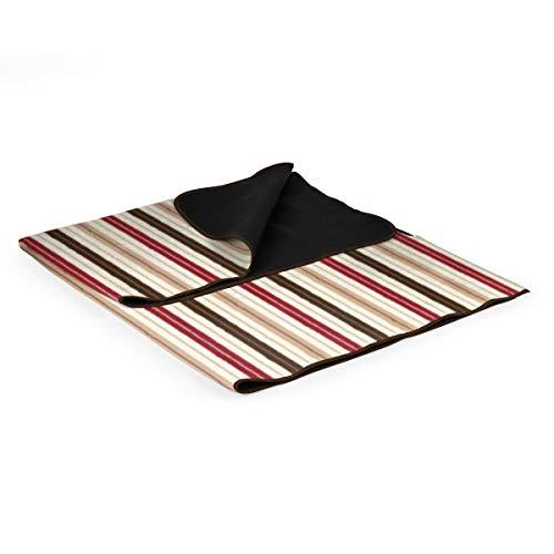 ONIVA - a Picnic Time Brand Outdoor Picnic Blanket Tote, Moka