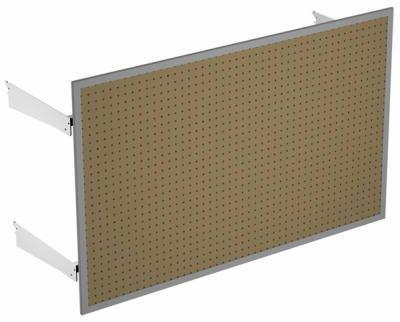 Lozier Store Fixtures TVXPA43016PEKIT 16 in. x 4 ft. x 30 in. Extended Peg Panel (Fixtures Lozier Store)