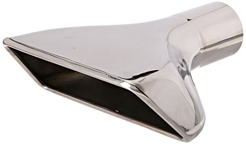 Roush 403548 Chrome Right Exhaust Tip for Mustang (Right Exhaust Tip)