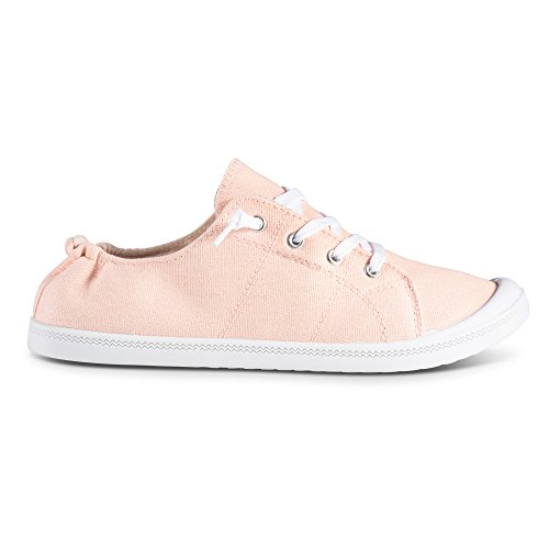 Andrea Canvas Twisted On Blush Sneakers Slip Womens gwqI5