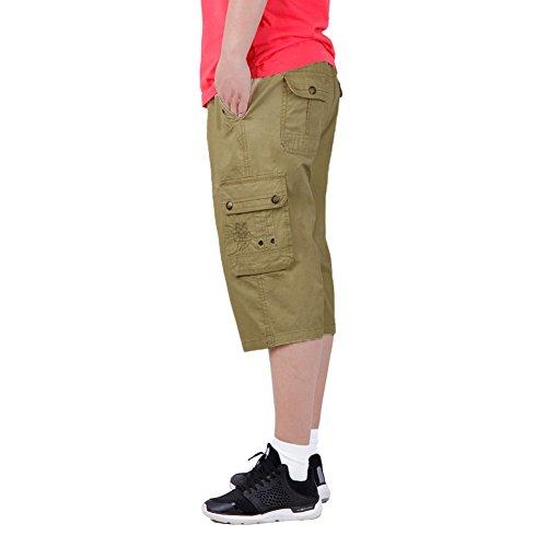 Ikrr Pantalones Cortos Bermuda Cargos Para Hombres 7tzyt0505908 19 50