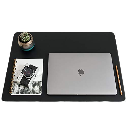 ZBRANDS // Leather Smooth Desk Mat Pad Blotter Protector 24